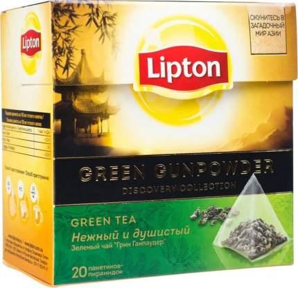 Чай Lipton Green Gunpowder зеленый 20 пакетиков 36 г