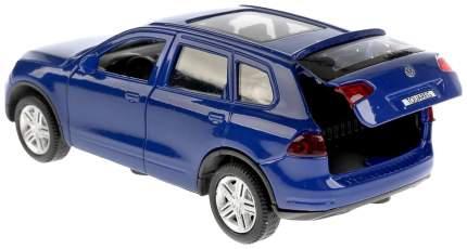 Машина металлическая инерционная Volkswagen Touareg, цвет синий, 12 см Технопарк