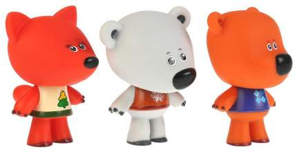 Набор из 3-х игрушек для ванны Капитошка Ми-ми-мишки