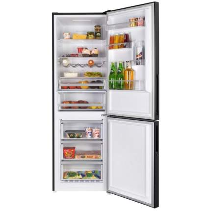 Холодильник Maunfeld MFF185NFB Black