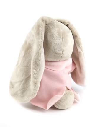 Мягкая игрушка BUDI BASA Зайка Ми в розовой меховой курточке, 23 см
