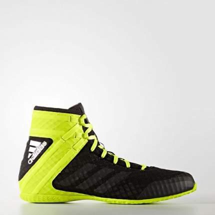 Боксерки Adidas Speedex 16.1, черные/желтые, 41