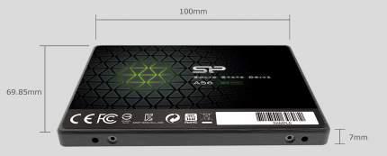 Внутренний SSD накопитель SILICON PO SP256GBSS3A56B25