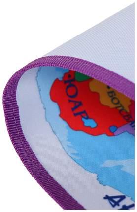 """Накладка на стол, текстиль, складная, 700 х 450 мм, """"Страны мира"""" Оникс"""