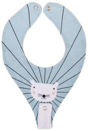 Нагрудный фартук Happy Baby с креплением для пустышки Mouse