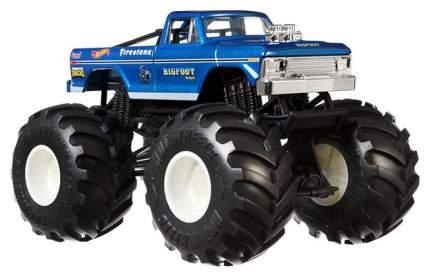 Внедорожник игрушечный Mattel Hot Wheels GBV32 Хот Вилс Монстр трак 1:24 Снежный Человек