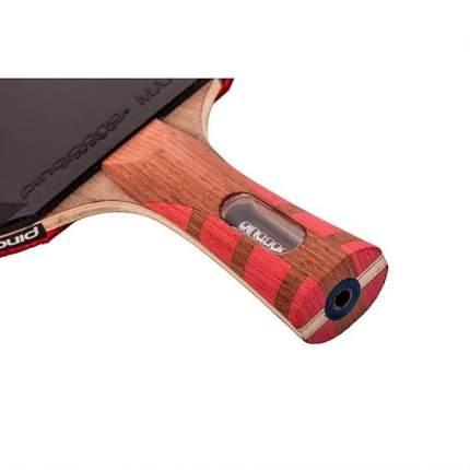 Ракетка для настольного тенниса Ping-Pong T1295 Carbon Fusion, красная