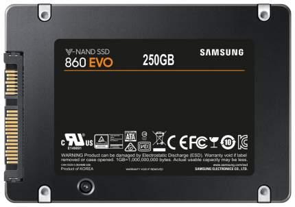 Внутренний SSD диск Samsung 860 EVO 250GB (MZ-76E250BW)