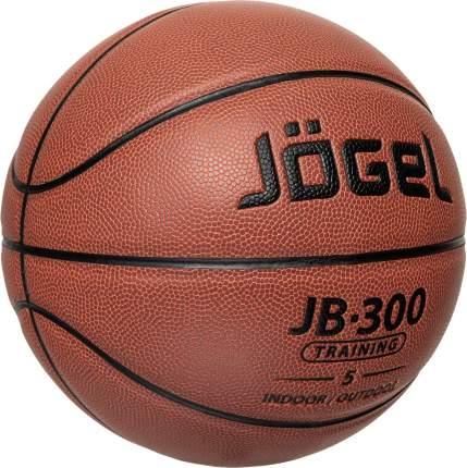 Баскетбольный мяч Jogel JB-300 №5 brown