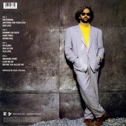 Виниловая пластинка Eric Clapton Journeyman (2LP)