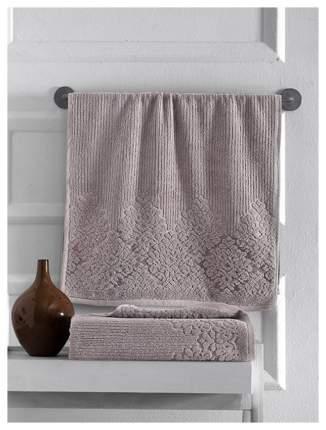 Полотенце для лица, полотенце для рук KARNA Verda коричневый