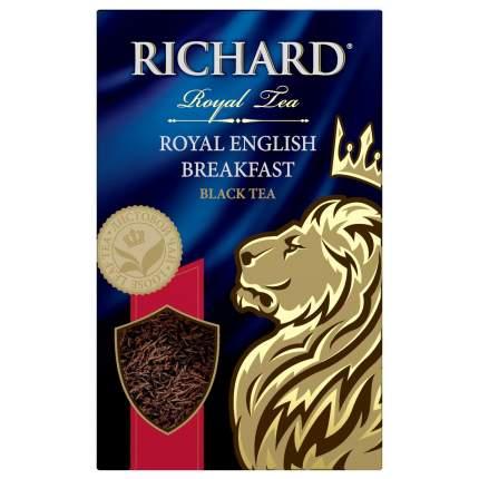Чай черный Richard royal english breakfast листовой 90 г