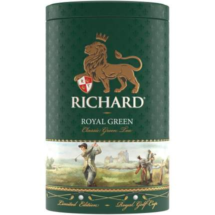 Чай Richard роял грин зеленый крупнолистовой 80 г