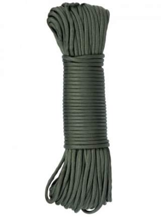 Паракорд GONGTEX Nylon Paracord, 30м, 5мм, нейлон, 11-ти жильный, 600 Lb, Оливковый