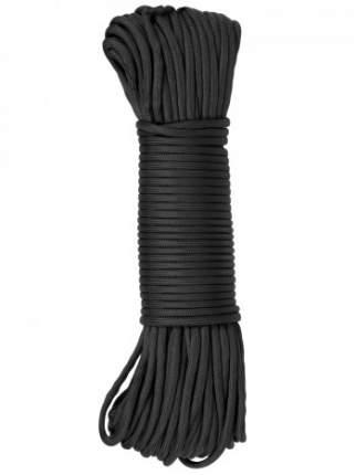 Паракорд GONGTEX Nylon Paracord, 30м, 5мм, нейлон, 11-ти жильный, 600 Lb, Черный
