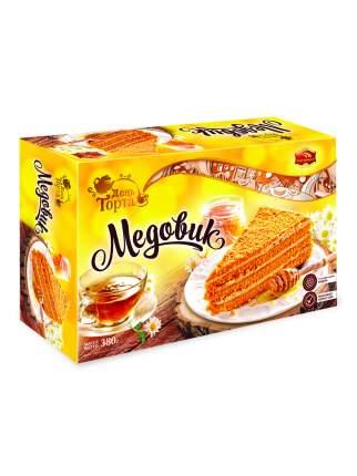 """Торт """"Медовик"""" с натуральным медом 380г/Черемушки/Вкус знакомый с детства."""
