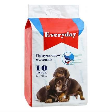 Пеленки для домашних животных для собак и кошек,  60 x 60см 10шт