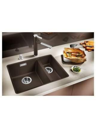 Мойка для кухни керамическая Blanco SUBLINE 350/150-U 516976 базальт
