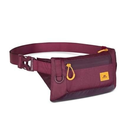RIVACASE 5311 burgundy red поясная сумка для мобильных устройств