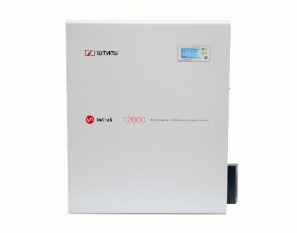Однофазный стабилизатор ИнСтаб IS12000 220-230В (новый корпус)
