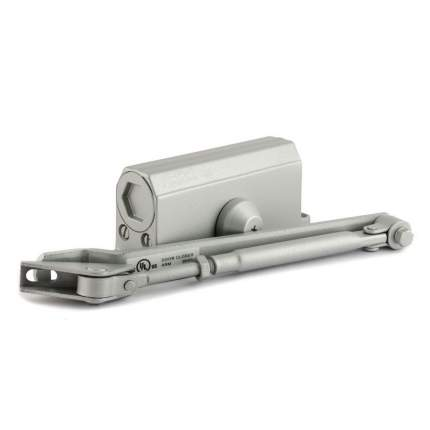 Доводчик дверной НОРА-М 2S морозостойкий (от 25 до 50 кг) - Серый
