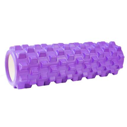 Ролик для йоги и пилатеса Gess Asana, фиолетовый