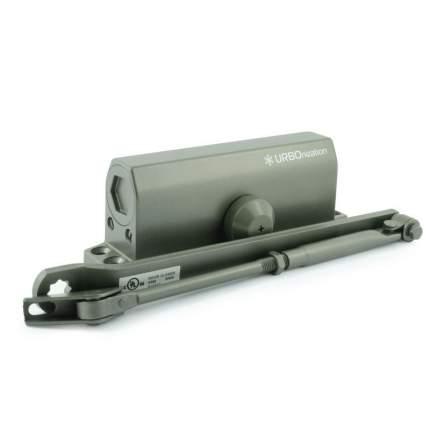 Доводчик дверной НОРА-М 550 URBOnization морозостойкий (от 120 до 160 кг) - Графит