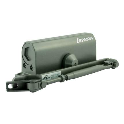 Доводчик дверной НОРА-М Isparus 430 морозостойкий (от 50 до 110 кг) - Графит