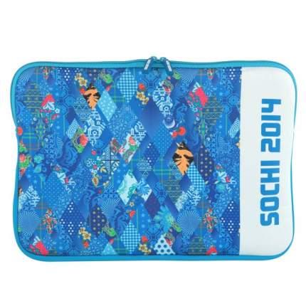 """Сумка для ноутбука 15"""" Alion PAT-SL15-BL синяя/белая"""
