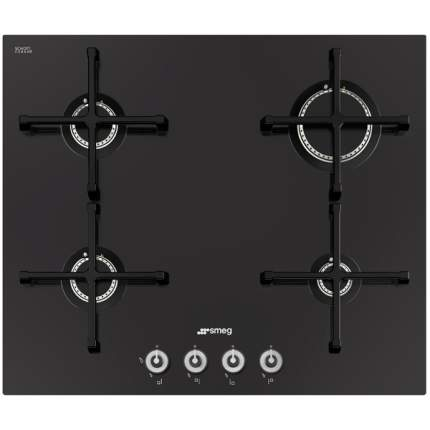 Встраиваемая варочная панель газовая Smeg PV164CN Black