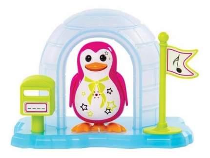 Пингвин в домике Digibirds, розовый
