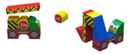 Магнитные кубики стройка