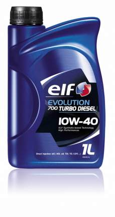 Моторное масло elf Evolution 700 TURBO D 10W-40 1л