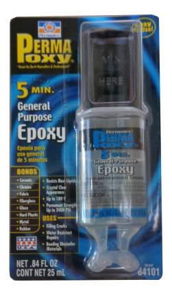 Клей Эпоксидный многофункциональный PERMATEX 5 Minute GP Epoxy-Crystal Clear 0,025л 84101