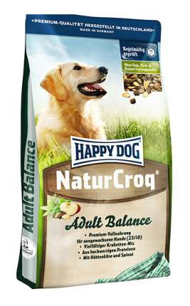 Сухой корм для собак Happy Dog NaturCroq Balance, птица, говядина, морская рыба, 15кг