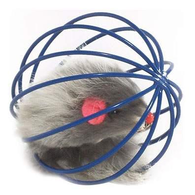 Мягкая игрушка для кошек I.P.T.S., Искусственный мех, Металл, 5,5 см