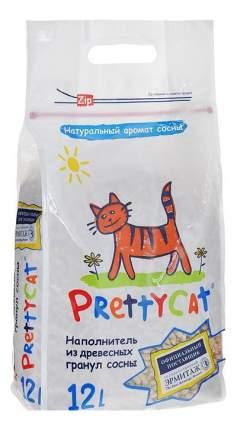 Наполнитель для туалета Pretty Cat Древесный 12 л Хвоя