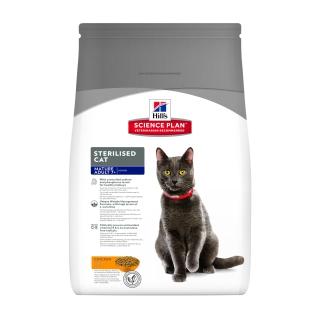 Корм для кошек Hill's Science Plan, для стерилизованных, курица, 1шт, 3.5кг