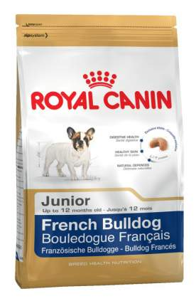 Сухой корм для щенков ROYAL CANIN French Bulldog Junior, птица, 10кг
