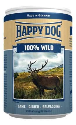 Консервы для собак Happy Dog 100% Wild, дичь, 6шт по 400г