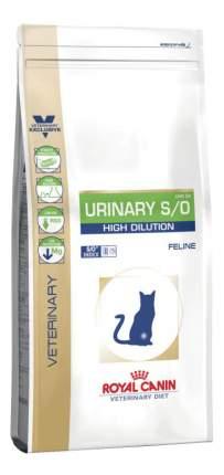 Сухой корм для кошек ROYAL CANIN Urinary S/O High Dilution, растворение струвитов, 1,5кг