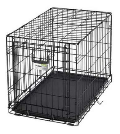Клетка для собак MidWest Ovation 1 дверь 79х49х54,6hсм, черная