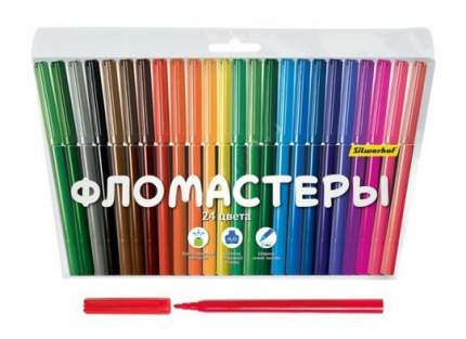 Фломастеры Silwerhof Народная Коллекция, 24 цвета