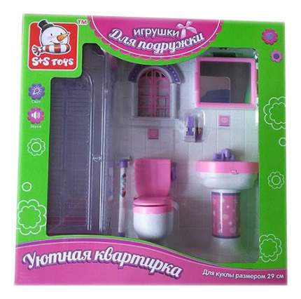 Туалетная комната для кукольного дома S+S Toys