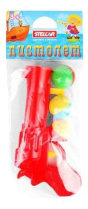 Пистолет пластмассовый с шариками ( в п п пакете)