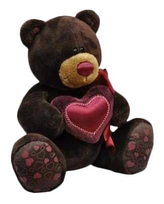 Мягкая игрушка Orange Toys Медведь мальчик Choco с сердцем 20 см