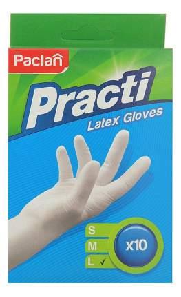 Перчатки для уборки Paclan Practi размер L 10 шт.