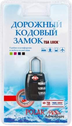 Замок для багажа кодовый Polar черный 800717