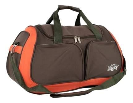 Дорожная сумка Polar 5985 хаки 55 x 22 x 33