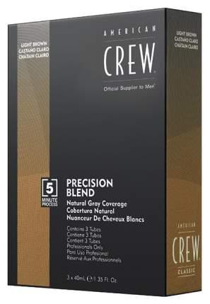 Краска для волос American Crew Precision Blend пепельный оттенок 5/6 3х40 мл